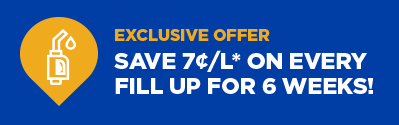 Exclusive Offer - Save 7c/l on every fill up for 6 weeks!